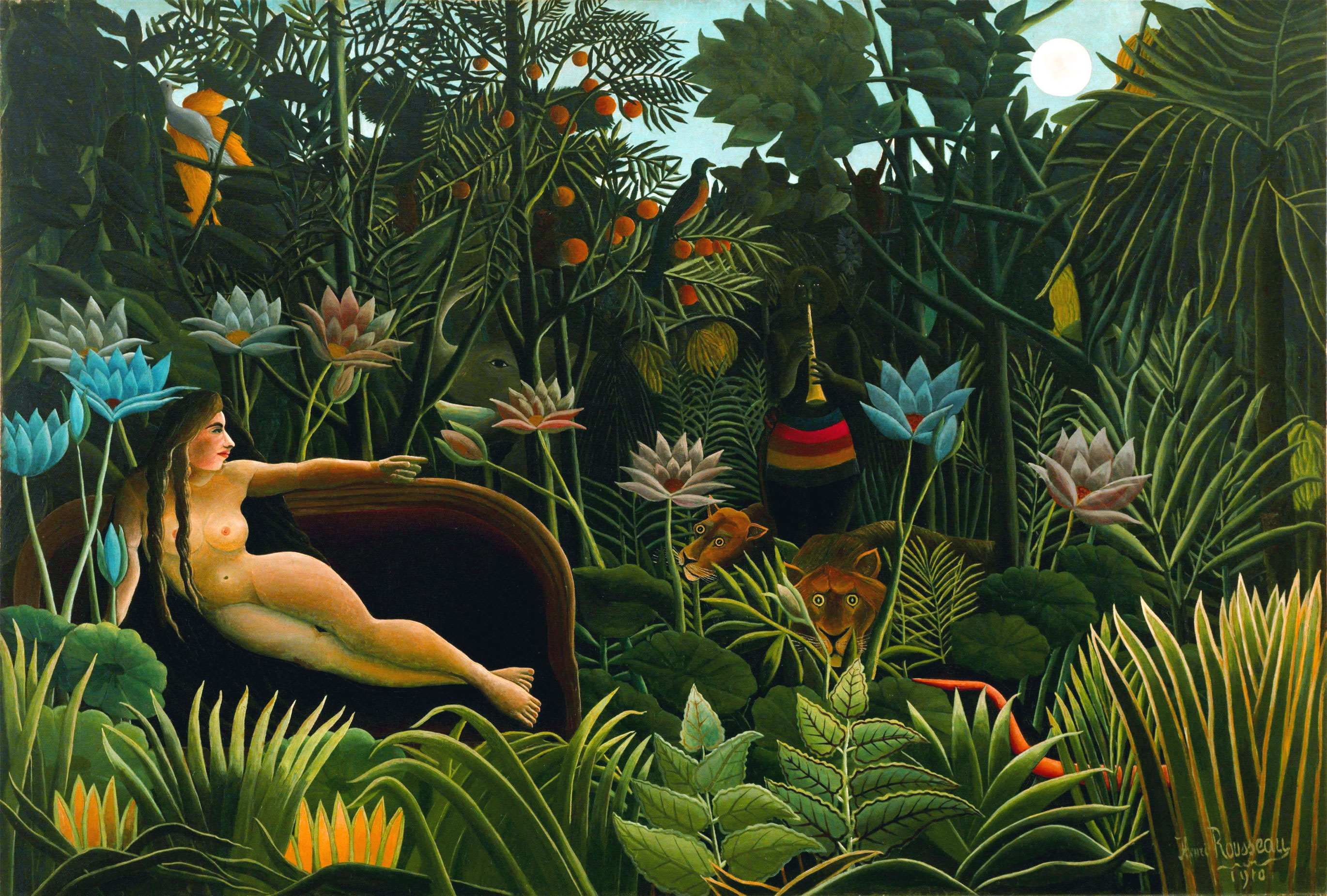Il-sogno-The-dream-Le-reve-El-sueno-Henri-Rousseau-1910